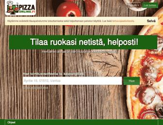 Thumbshot of Pizzaonline.fi