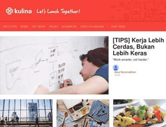 blog.kulina.id screenshot