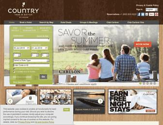 Thumbshot of Countryinns.com