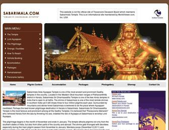 Thumbshot of Sabarimala.org