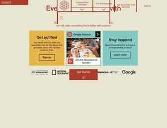 Thumbshot of Googlesciencefair.com