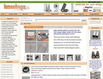Thumbshot of Lunashops.com