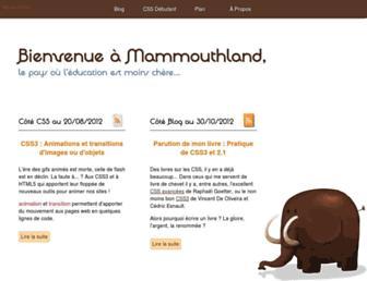 Thumbshot of Mammouthland.free.fr