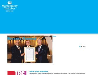 montgomerychamber.com screenshot