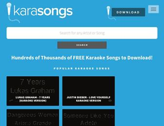 karasongs.com screenshot