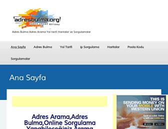 Thumbshot of Adresbulma.org