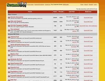 forums.scummvm.org screenshot