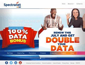 Thumbshot of Spectranet.com.ng