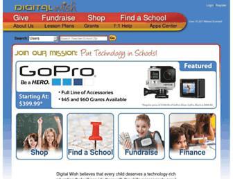 digitalwish.com screenshot