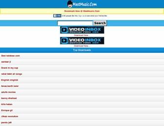 music.mastmuzic.com screenshot