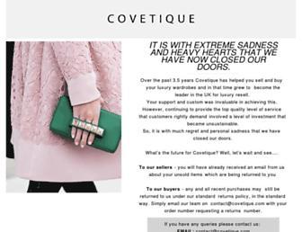Thumbshot of Covetique.com
