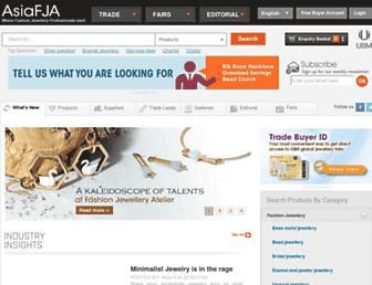 asiafja.com screenshot