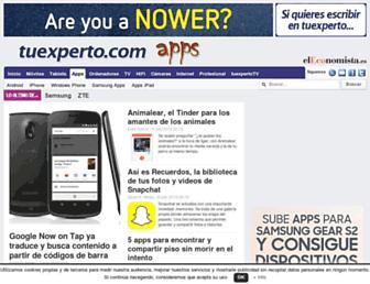 tuexpertoapps.com screenshot