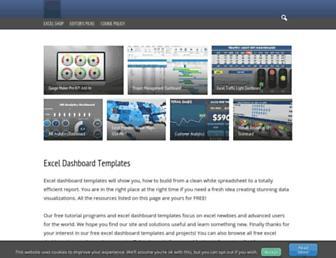 exceldashboardschool.com screenshot