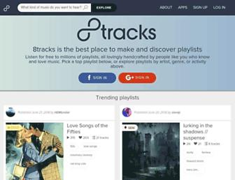 Thumbshot of 8tracks.com