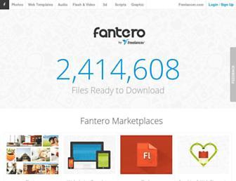 fantero.com screenshot