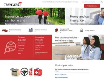 travelerscanada.ca screenshot