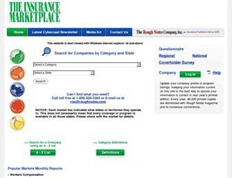insurancemarketplace.com screenshot