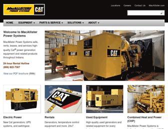 macallisterpowersystems.com screenshot