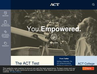 Thumbshot of Act.org