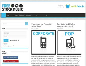 freestockmusic.com screenshot
