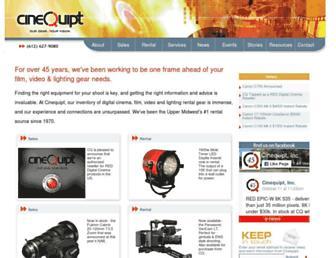 cinequipt.com screenshot