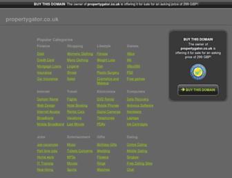 Thumbshot of Propertygator.co.uk
