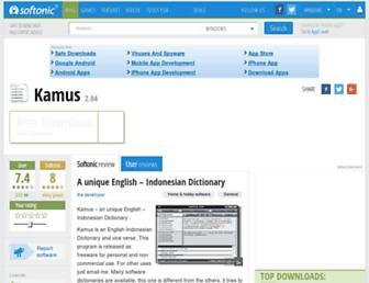 kamus.en.softonic.com screenshot