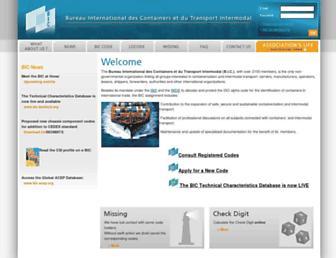bic-code.org screenshot