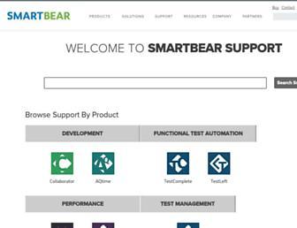 support.smartbear.com screenshot