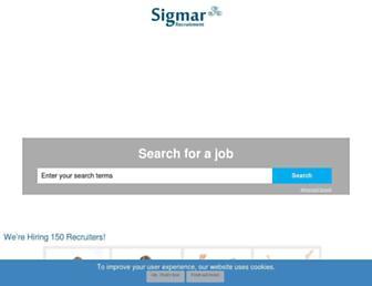sigmarrecruitment.com screenshot