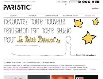Thumbshot of Paristic.fr