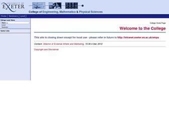 empslocal.ex.ac.uk screenshot