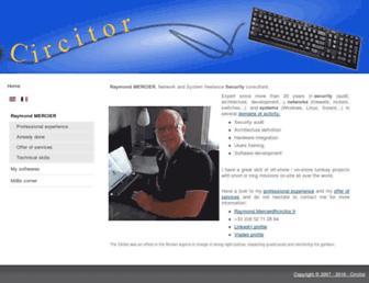 circitor.fr screenshot