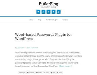 Thumbshot of Butlerblog.com