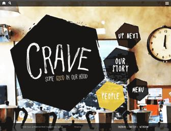 cafecrave.co.nz screenshot