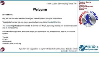 quote.webcircle.com screenshot