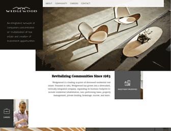 wedgewood-inc.com screenshot