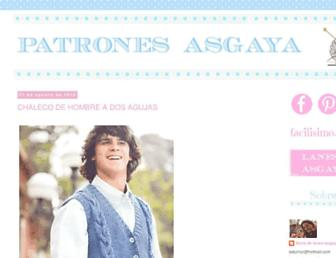patrones-asgaya.blogspot.com screenshot