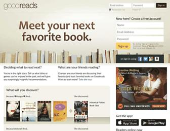 goodreads.com screenshot