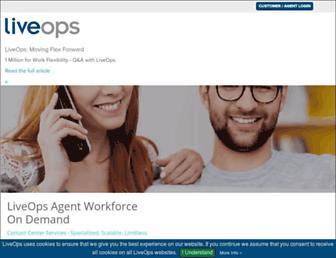 Thumbshot of Liveops.com