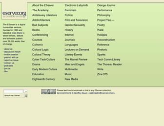 Thumbshot of Eserver.org