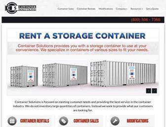 containersolutions.net screenshot