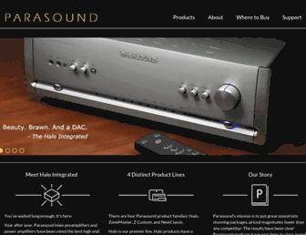 parasound.com screenshot