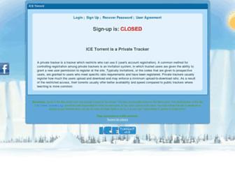 Thumbshot of Icetorrent.org