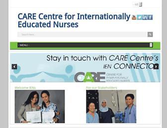 care4nurses.org screenshot