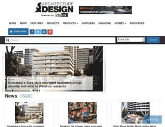 architectureanddesign.com.au screenshot
