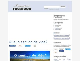 Thumbshot of Imagensparafacebook.com.br