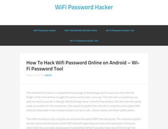 wi-fipasswordhacker.com screenshot