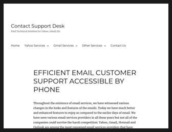 contactsupportdesk.com screenshot